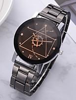 Недорогие -Жен. Наручные часы Кварцевый Черный / Белый Новый дизайн Cool Аналоговый Heart Shape Мода - Белый Черный