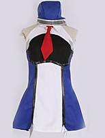 Недорогие -Вдохновлен Косплей Косплей Аниме Косплэй костюмы Косплей Костюмы Простой Платье / Больше аксессуаров / пояс Назначение Муж. / Жен.