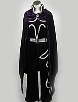 Недорогие -Вдохновлен Косплей Косплей Аниме Косплэй костюмы Косплей Костюмы Черный и белый Кофты / Брюки / Маски Назначение Муж. / Жен.