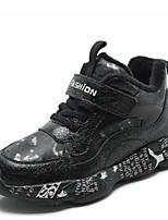 Недорогие -Девочки Обувь Искусственная кожа Зима Удобная обувь Спортивная обувь для Для подростков Черный