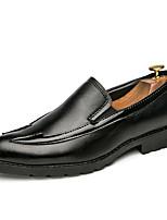 Недорогие -Муж. Комфортная обувь Полиуретан Весна На каждый день Мокасины и Свитер Доказательство износа Черный / Красный