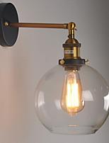 Недорогие -Творчество Ретро Настенные светильники В помещении / кафе Металл настенный светильник 220-240Вольт 40 W