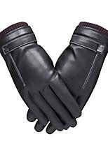 Недорогие -Полныйпалец Муж. / Жен. Мотоцикл перчатки Кожа Сенсорный экран / Сохраняет тепло