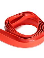 Недорогие -2.5 м х 4.5 см передняя губа бампер полоса спойлер юбка резиновый протектор