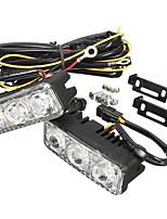Недорогие -2pcs Автомобиль Лампы 3 Светодиодная лампа Фары дневного света / Лампа поворотного сигнала Назначение Универсальный / Volkswagen / Toyota Дженерал Моторс Все года