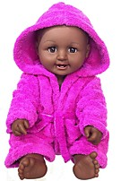 Недорогие -Куклы реборн Кукла для девочек Девочки Африканская кукла 20 дюймовый как живой Очаровательный Дети / подростки Детские Универсальные Игрушки Подарок