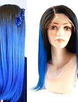 Недорогие -человеческие волосы Remy Лента спереди Парик стиль Бразильские волосы Естественный прямой Парик 180% Плотность волос Мягкость Лучшее качество Новое поступление Горячая распродажа Удобный Жен.