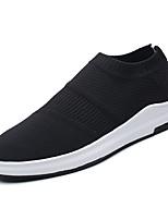 Недорогие -Муж. Комфортная обувь Сетка Весна На каждый день Мокасины и Свитер Для прогулок Дышащий Черный / Серый / Красный