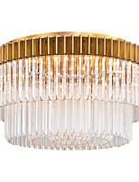 Недорогие -QIHengZhaoMing 9-Light Потолочные светильники Рассеянное освещение Электропокрытие Хрусталь 110-120Вольт / 220-240Вольт Теплый белый