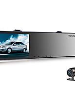 Недорогие -Vasens 168 720p / 960p / 1080p HD / Двойной объектив Автомобильный видеорегистратор 170° Широкий угол КМОП-структура 4.3 дюймовый LCD Капюшон с G-Sensor / Обноружение движения / Циклическая запись Нет
