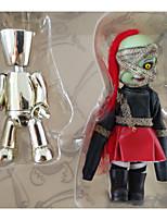 Недорогие -Неожиданные игрушки Интерактивная кукла Ужасы 4 дюймовый Дети / подростки Веселье Детские Универсальные Игрушки Подарок