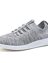 Недорогие -Муж. Комфортная обувь Tissage Volant Весна Спортивные Кеды Доказательство износа Серый / Синий / Винный