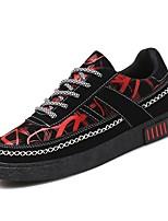 Недорогие -Муж. Комфортная обувь Полиуретан Весна Кеды Белый / Красный / Синий