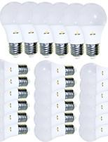 Недорогие -EXUP® 24pcs 5 W 450 lm E26 / E27 Круглые LED лампы 15 Светодиодные бусины SMD 2835 Творчество / обожаемый / Cool Тёплый белый 85-265 V