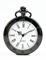 Недорогие -Муж. Жен. Карманные часы Кварцевый Черный Повседневные часы Cool Аналоговый На каждый день Мода - Черный
