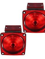 Недорогие -2pcs Автомобиль Лампы Подсветка для номерного знака / Боковые габаритные огни / Тормозные огни Назначение Универсальный Все модели Все года