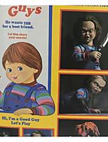 Недорогие -Неожиданные игрушки Интерактивная кукла Ужасы 6 дюймовый Дети / подростки Веселье Детские Универсальные Игрушки Подарок