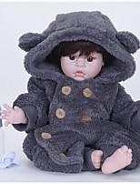 Недорогие -FeelWind Куклы реборн Мальчики 22 дюймовый Силикон Винил - как живой Ручная Pабота Очаровательный Дети / подростки Нетоксично Детские Универсальные Игрушки Подарок