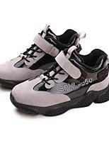 Недорогие -Девочки Обувь Искусственная кожа Наступила зима Удобная обувь Спортивная обувь Беговая обувь для Для подростков Серый / Лиловый / Красный
