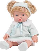 Недорогие -KIDDING Куклы реборн Девочки 24 дюймовый Полный силикон для тела Силикон Винил - как живой Ручная Pабота Очаровательный Дети / подростки Детские Универсальные Игрушки Подарок