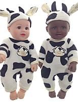 Недорогие -Куклы реборн Кукла для девочек Куклы Мальчики Девочки Африканская кукла 20 дюймовый как живой Очаровательный Дети / подростки Детские Универсальные Игрушки Подарок