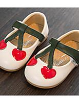 Недорогие -Девочки Обувь Искусственная кожа Весна & осень Удобная обувь / Обувь для малышей На плокой подошве для Дети (1-4 лет) Бежевый / Красный