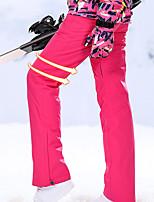 Недорогие -High Experience Жен. Лыжные брюки Водонепроницаемость Сохраняет тепло С защитой от ветра Катание на лыжах Сноубординг Зимние виды спорта Полиэфир Терилен Шелковая ткань Снегурочка / Зима