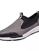 Недорогие -Муж. Комфортная обувь Полиуретан Весна На каждый день Мокасины и Свитер Нескользкий Контрастных цветов Черный / Серый / Желтый
