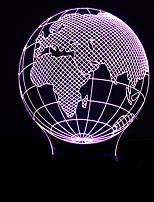 Недорогие -1шт LED Night Light Аккумуляторы AA Творчество / Украшение 5 V