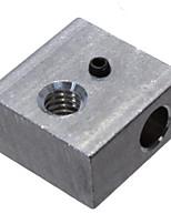 Недорогие -OEM 5 pcs Алюминиевый блок для 3D-принтера