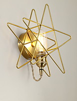 Недорогие -Творчество Простой Настенные светильники Спальня Металл настенный светильник 220-240Вольт 40 W