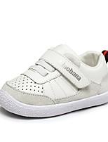 Недорогие -Девочки Обувь Искусственная кожа Весна & осень Удобная обувь / Обувь для малышей Кеды для Ребёнок до года Белый / Черный / Розовый