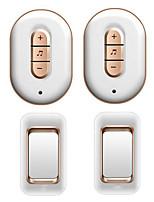 Недорогие -Factory OEM Беспроводное Два-два дверных звонка Музыка / Дзынь-дзынь Невизуальные дверной звонок Крепеж на поверхности