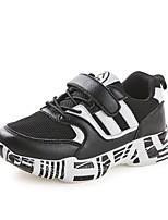Недорогие -Мальчики Обувь Сетка Весна & осень Удобная обувь Спортивная обувь Беговая обувь для Дети / Для подростков Белый / Черный