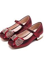 Недорогие -Девочки Обувь Полиуретан Весна & осень Удобная обувь Обувь на каблуках для Дети Золотой / Красный / Розовый