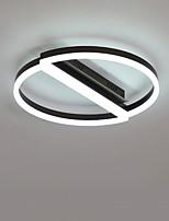 Недорогие -CONTRACTED LED® 2-Light Круглый / Оригинальные Потолочные светильники Потолочный светильник Матовый Алюминий Творчество, Новый дизайн 110-120Вольт / 220-240Вольт Теплый белый / Белый
