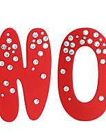 Недорогие -Жен. несовместимый Серьги - Искусственный бриллиант Бижутерия Черный / Красный Назначение Свадьба Повседневные 1 пара