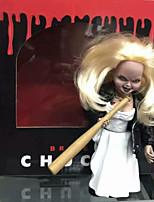Недорогие -Неожиданные игрушки Интерактивная кукла Ужасы 6 дюймовый Веселье Декомпрессионные игрушки Детские Универсальные Игрушки Подарок