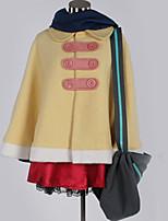 Недорогие -Вдохновлен Косплей Косплей Аниме Косплэй костюмы Косплей Костюмы Однотонный Пальто / Кофты / Юбки Назначение Муж. / Жен.