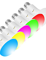 Недорогие -Exup 1 шт. 10 Вт 800LM E26 / E27 светодиодные лампы R80 / BR30 Wi-Fi умная лампочка с регулируемой яркостью затемнения пробуждения огни управления приложениями Creative RGBW