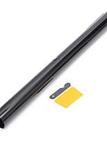 Недорогие -50 см х 7 м 15% vlt оконная тонировочная пленка черный рулон для автомобиля авто дом офис коммерческий