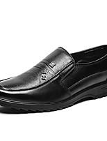 Недорогие -Муж. Комфортная обувь Полиуретан Весна На каждый день Мокасины и Свитер Доказательство износа Черный / Коричневый