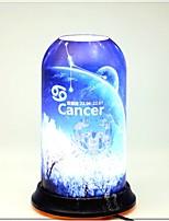 Недорогие -Цинюань художественное созвездие серии небо издание рак творческий новый дизайн настольная лампа для спальни в помещении исследование акриловые 85-265 В