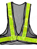 Недорогие -Черный 2шт&желтый светоотражающий жилет предупреждение о высокой видимости защитное снаряжение