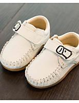 Недорогие -Девочки Обувь Кожа Весна & осень Удобная обувь Мокасины и Свитер для Дети Белый / Желтый / Синий