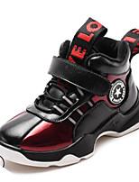 Недорогие -Мальчики / Девочки Обувь Кожа Лето Удобная обувь Кеды для Дети Черный / Красный / Синий