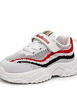 Недорогие -Девочки Обувь Сетка Осень Удобная обувь Спортивная обувь Беговая обувь для Дети / Дети (1-4 лет) Белый / Черный / Розовый
