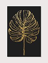 Недорогие -С картинкой Отпечатки на холсте - ботанический Modern