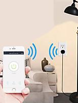 Недорогие -Brelong Smart Wi-Fi удаленный таймер и разъем совместимы с домашней страницей alexa / google