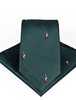 Недорогие -Муж. Для вечеринки / Классический Платок / аскотский галстук Однотонный / С принтом